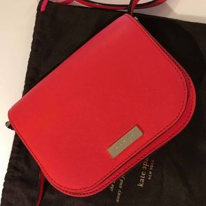 Kate Spade Carsen Newbury Lane Crossbody Bag (Red)